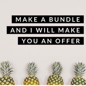 Make a bundle and I will make you an offer. 🌸